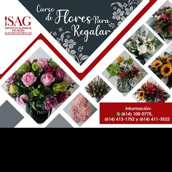 Curso de flores para regalar